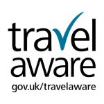 Arrive Relax Travel Travel Aware Logo