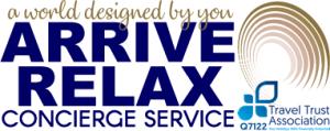 Arrive Relax Travel Concierge Logo