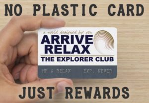 Arrive Relax Travel Explorer-Membership-Card