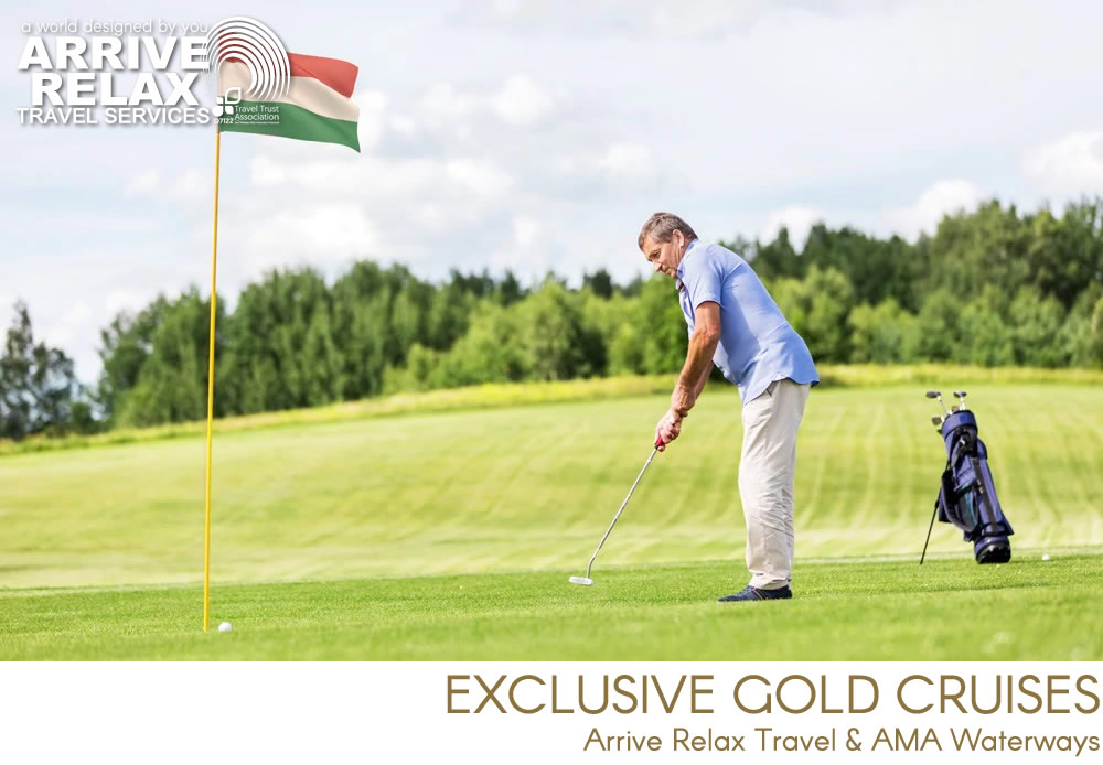Arrive Relax Travel Golf Program - Exclusive Golf Cruises