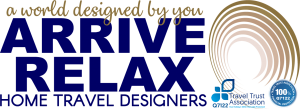 Arrive Relax Travel Home Travel Designers Logo TTA