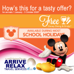 Arrive Relax Travel Free Disney Dining Featured Image